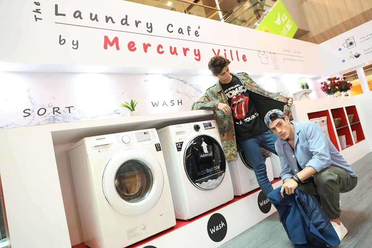 The Laundry Café by Mercury Ville