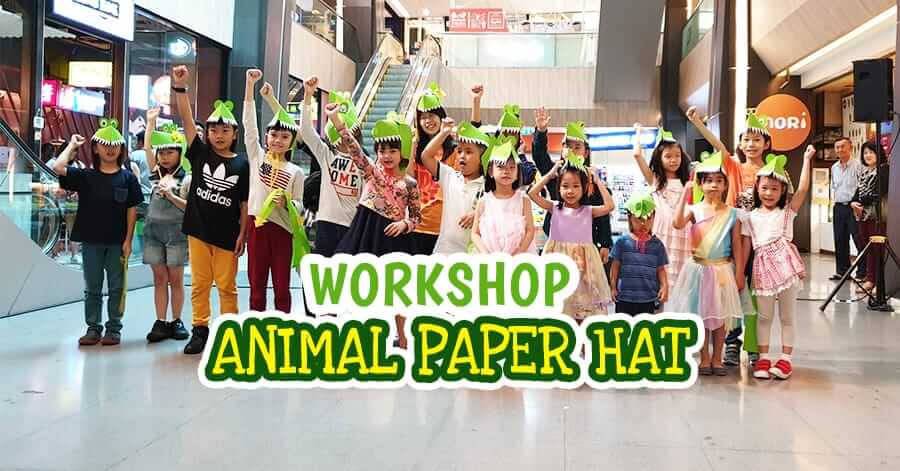 Workshop Animal Paper Hat