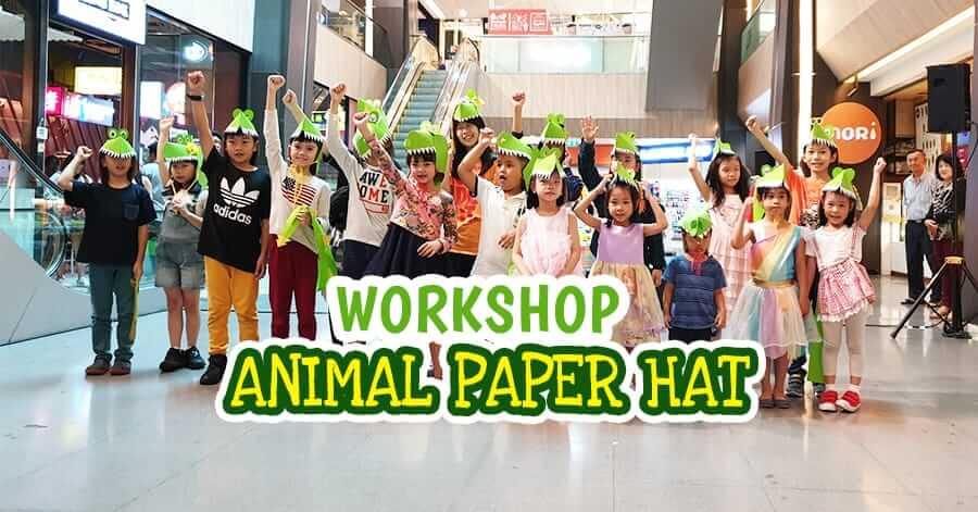 Workshop Animal Paper Hat