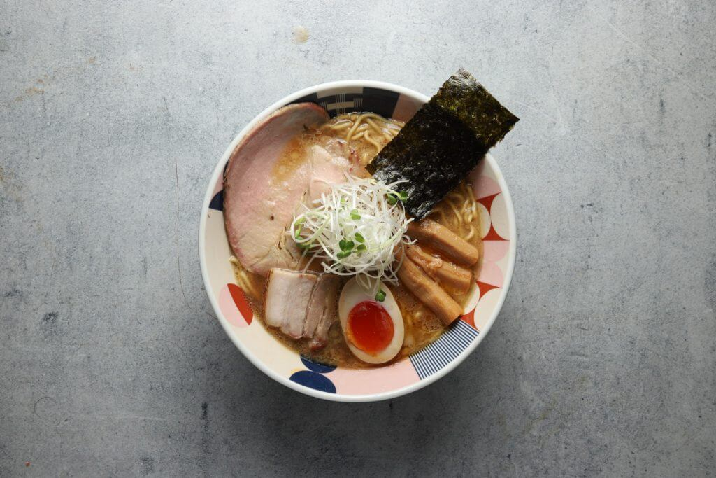 """Tonchin Ramen"" Popular Ramen store of Tokyo, Japan. (NYC's Michelin Bib Gourmands)"