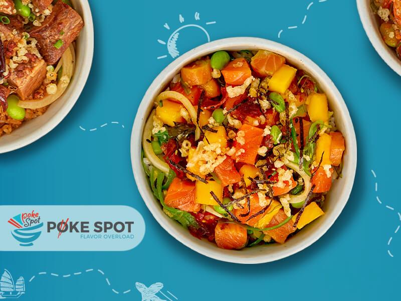 Poke Spot - Poke bowl, A delicious Hawaiian dish