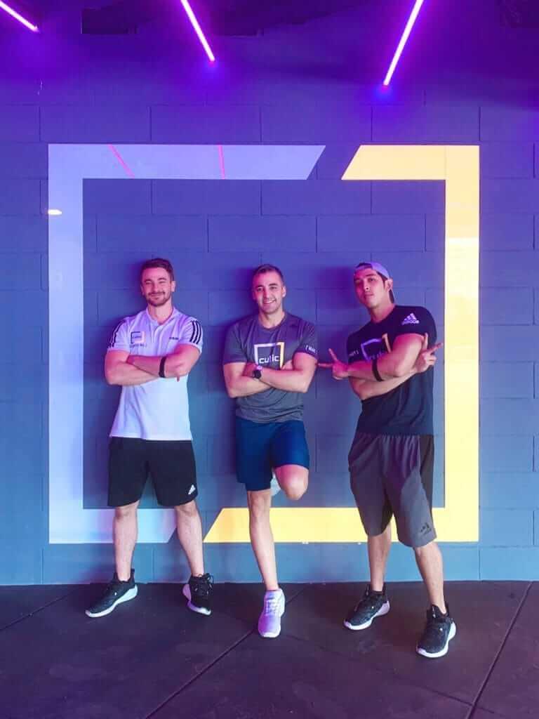 พนักงานและเทรนเนอร์ The Cubic Fitness @ Chidlom